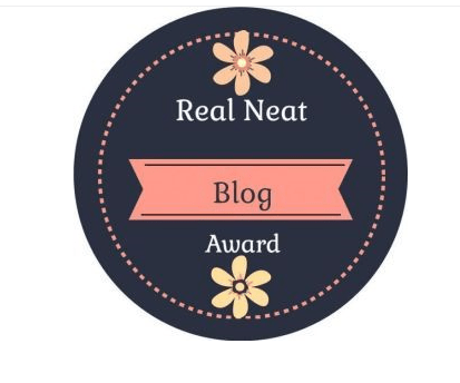 the real neat blogger award