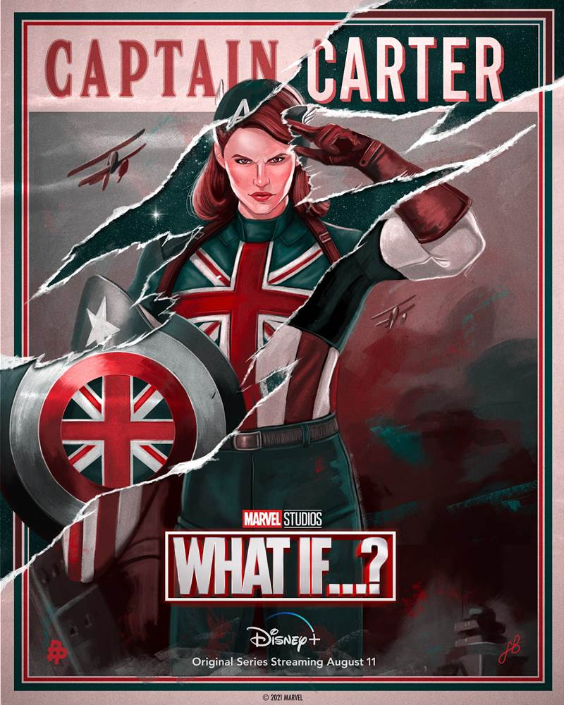 what if...? captain carter poster